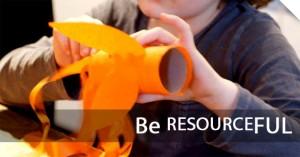 children art and craftmanship be resourceful